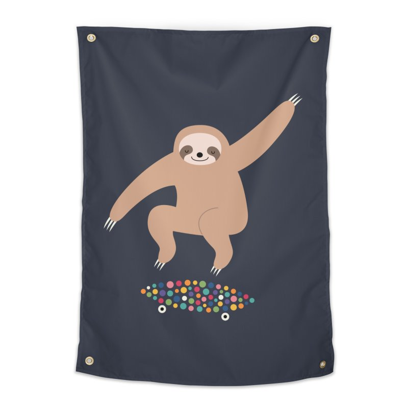 Sloth Gravity Home Tapestry by andywestface's Artist Shop