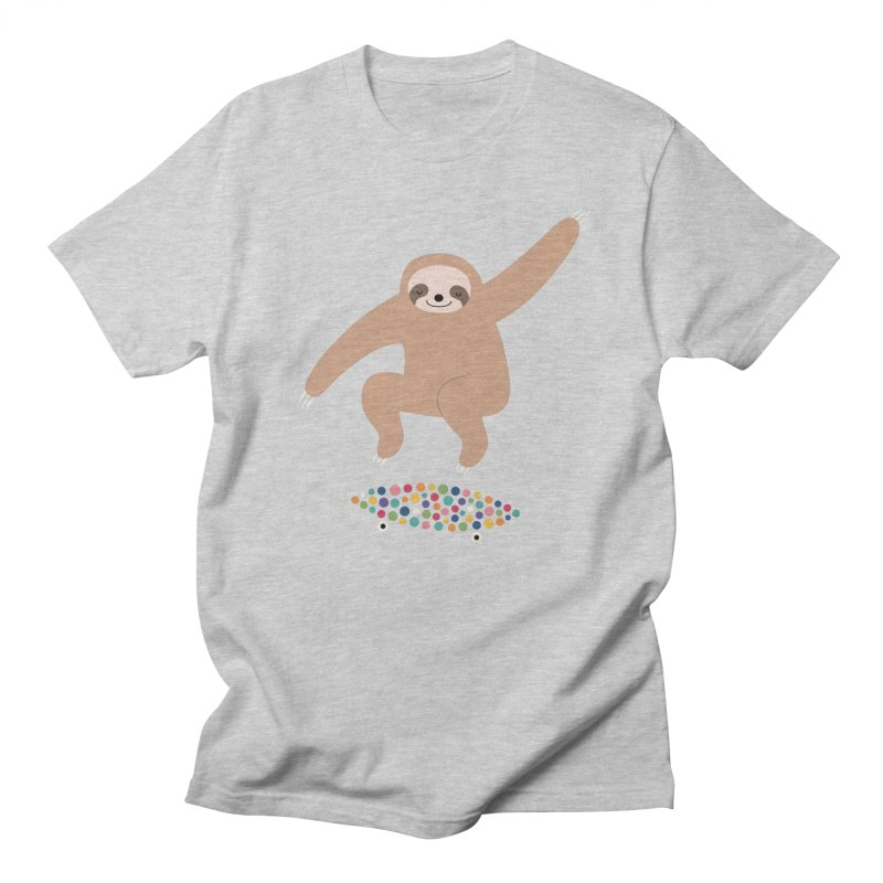 Sloth Gravity Women's Unisex T-Shirt by andywestface's Artist Shop