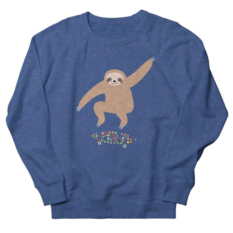 Sloth Gravity Women's Sweatshirt by andywestface's Artist Shop