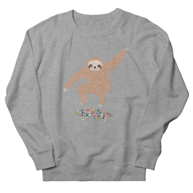 Sloth Gravity Men's Sweatshirt by andywestface's Artist Shop