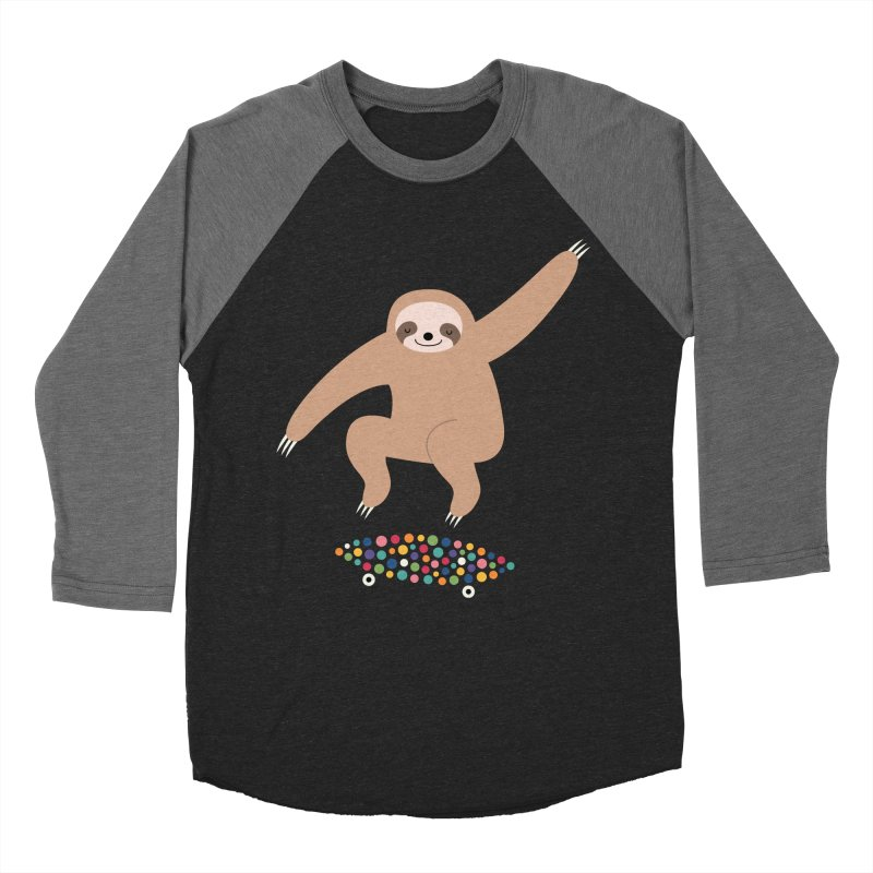 Sloth Gravity Women's Baseball Triblend T-Shirt by andywestface's Artist Shop