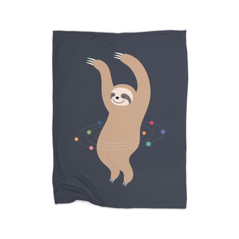 Sloth Galaxy Home Blanket by andywestface's Artist Shop