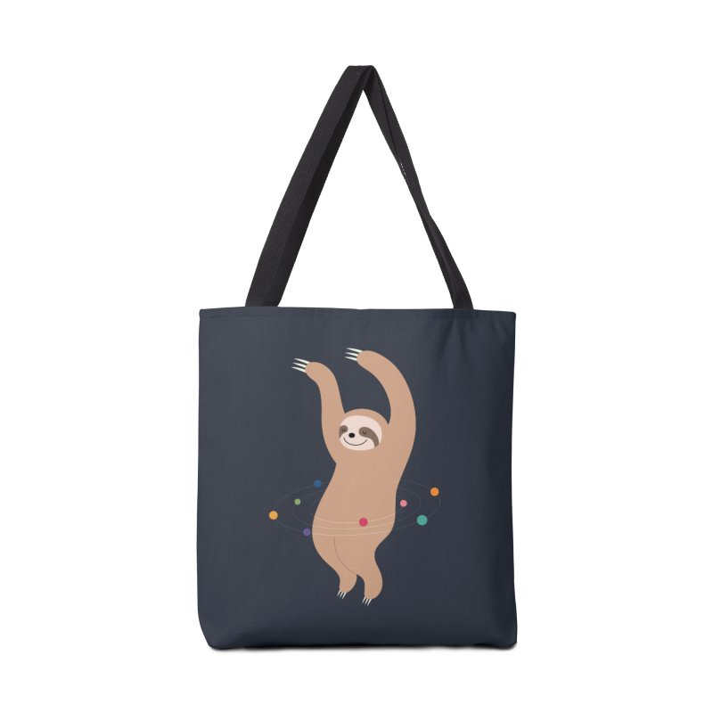Sloth Galaxy Accessories Bag by andywestface's Artist Shop