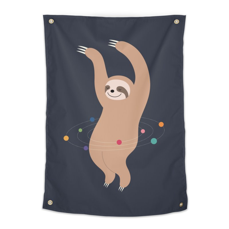 Sloth Galaxy Home Tapestry by andywestface's Artist Shop