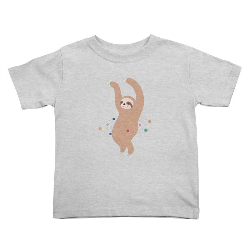 Sloth Galaxy Kids Toddler T-Shirt by andywestface's Artist Shop