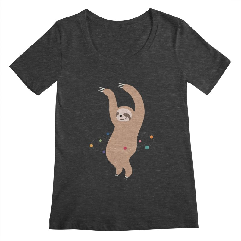 Sloth Galaxy Women's  by andywestface's Artist Shop