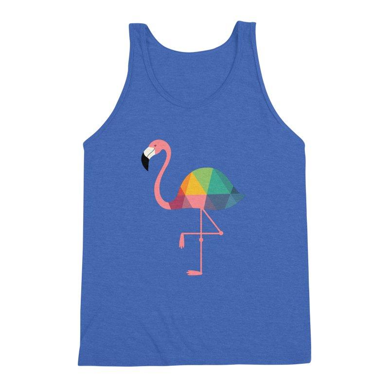 Rainbow Flamingo Men's  by andywestface's Artist Shop