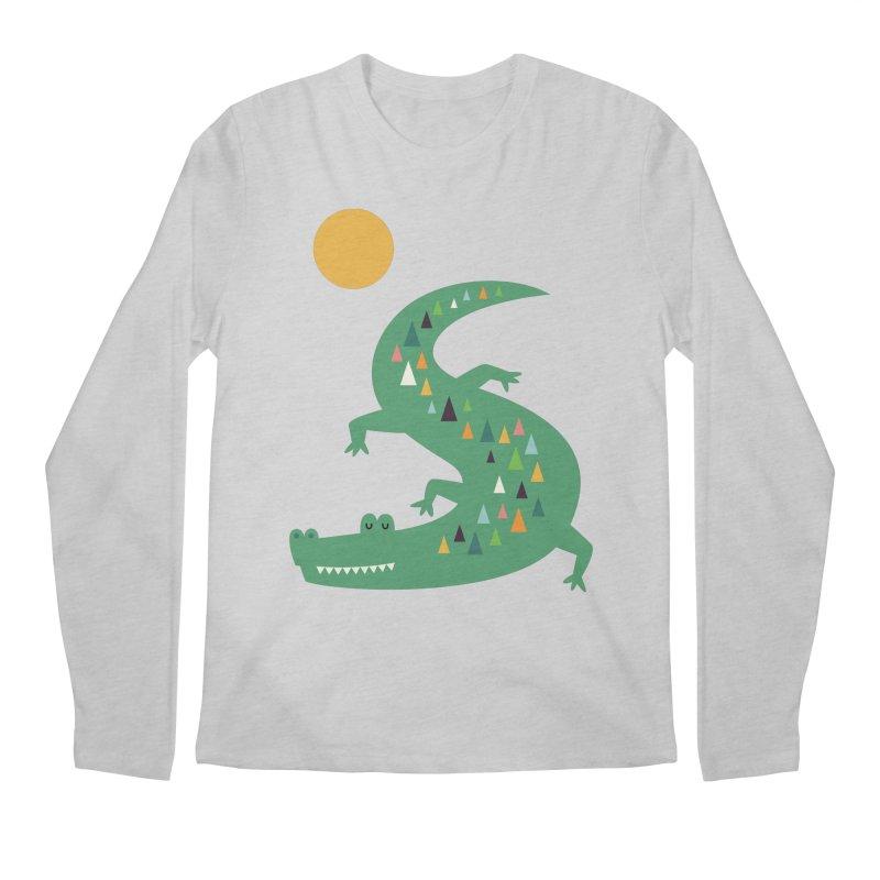 Sunbathing Men's Regular Longsleeve T-Shirt by andywestface's Artist Shop