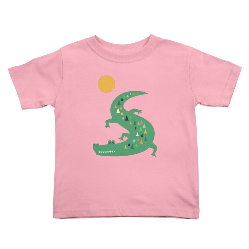 Sunbathing Kids Toddler T-Shirt by andywestface's Artist Shop