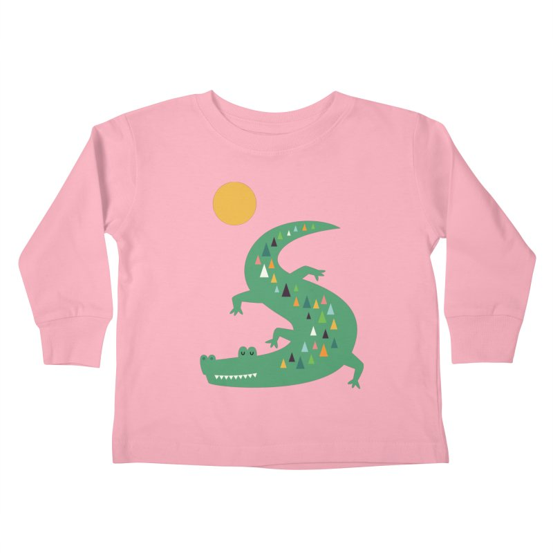 Sunbathing Kids Toddler Longsleeve T-Shirt by andywestface's Artist Shop