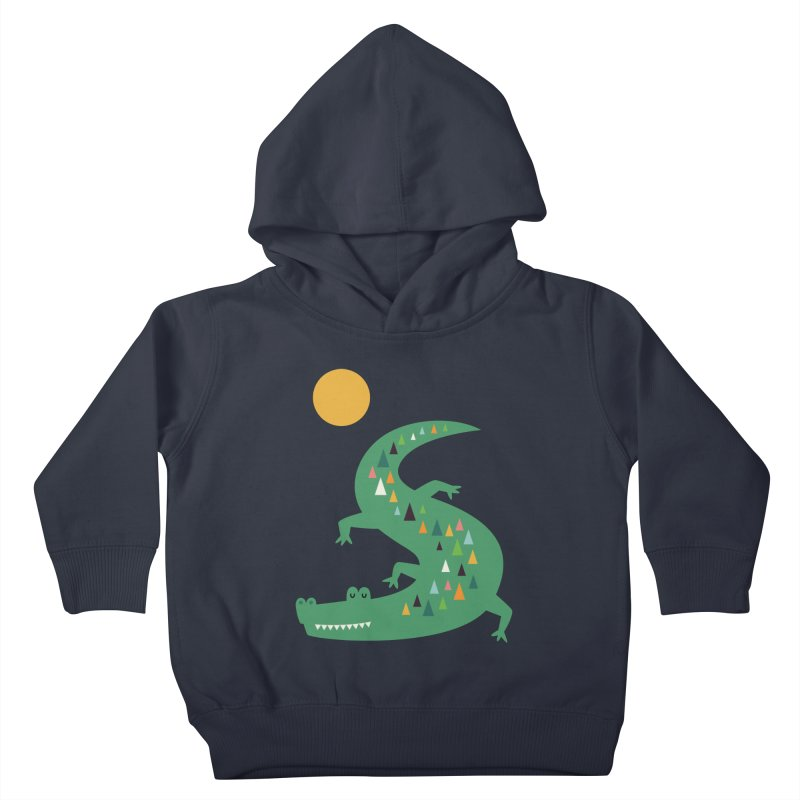 Sunbathing Kids Toddler Pullover Hoody by andywestface's Artist Shop