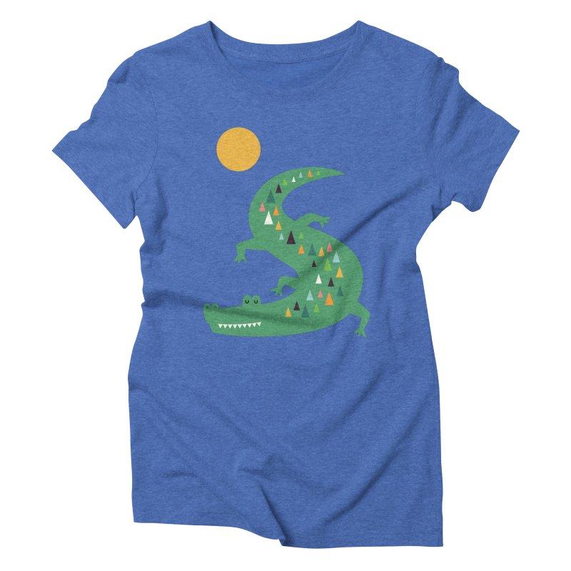 Sunbathing Women's Triblend T-Shirt by andywestface's Artist Shop
