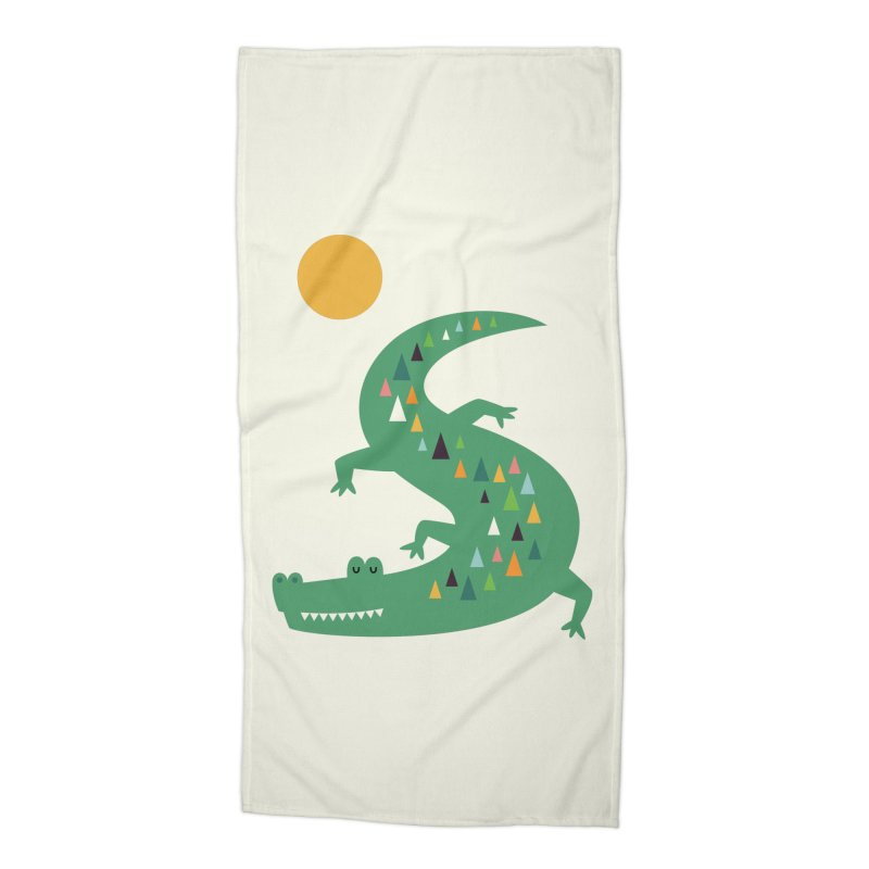 Sunbathing Accessories Beach Towel by andywestface's Artist Shop