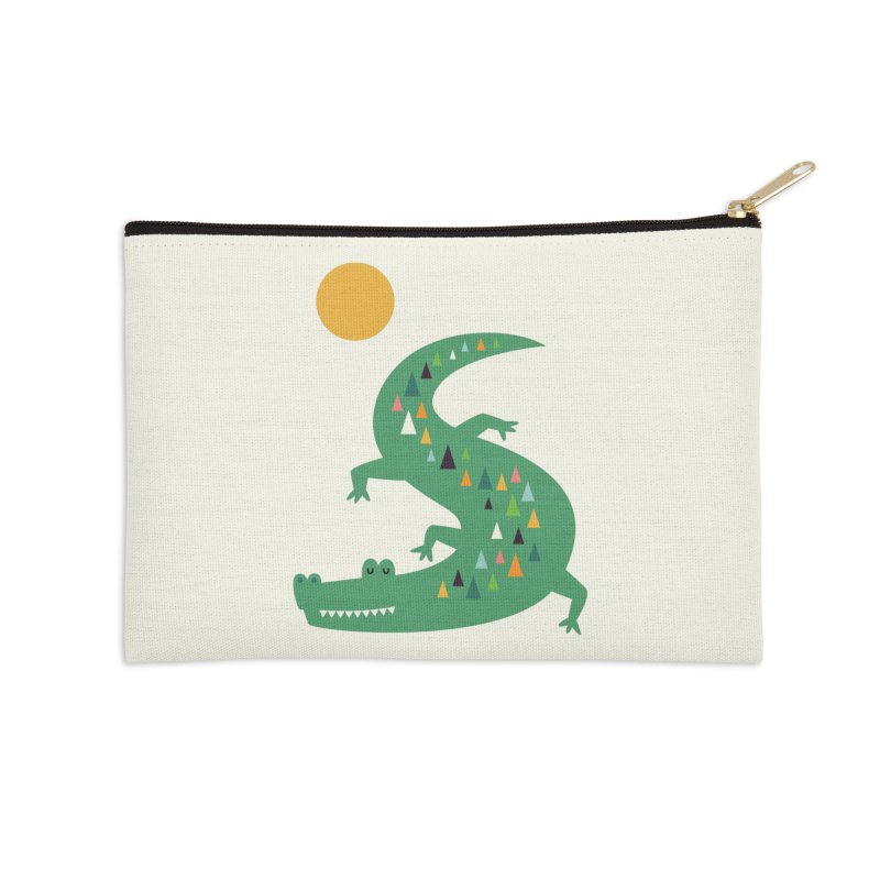 Sunbathing Accessories Zip Pouch by andywestface's Artist Shop