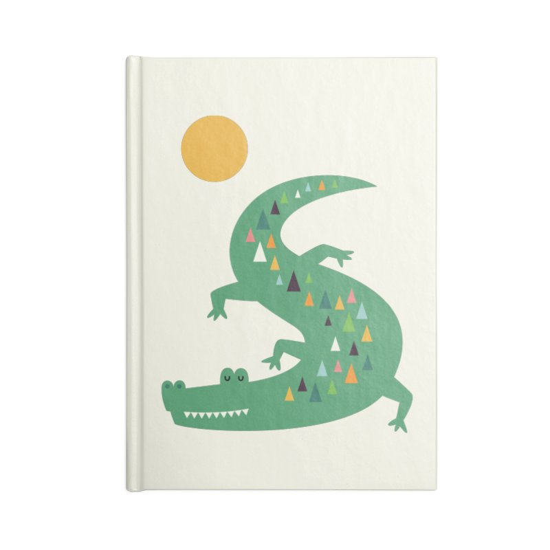 Sunbathing Accessories Notebook by andywestface's Artist Shop