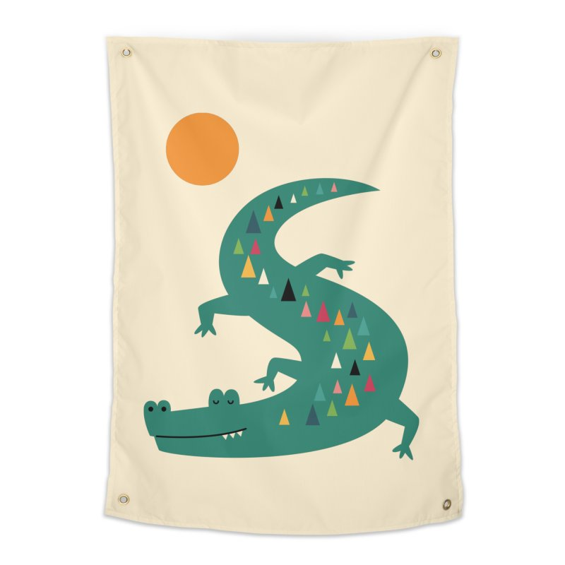 Sunbathing Home Tapestry by andywestface's Artist Shop