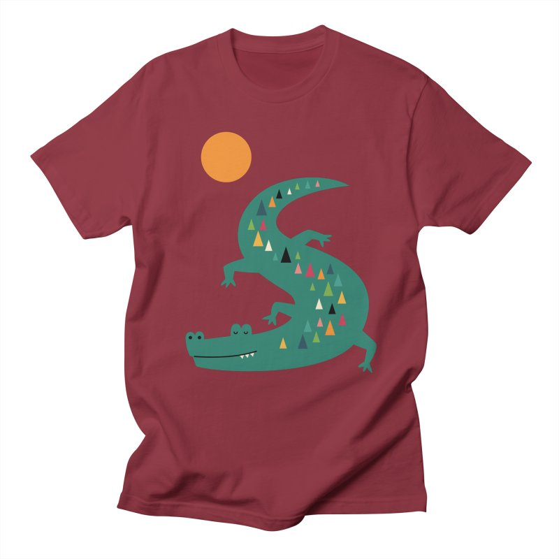 Sunbathing Men's T-Shirt by andywestface's Artist Shop