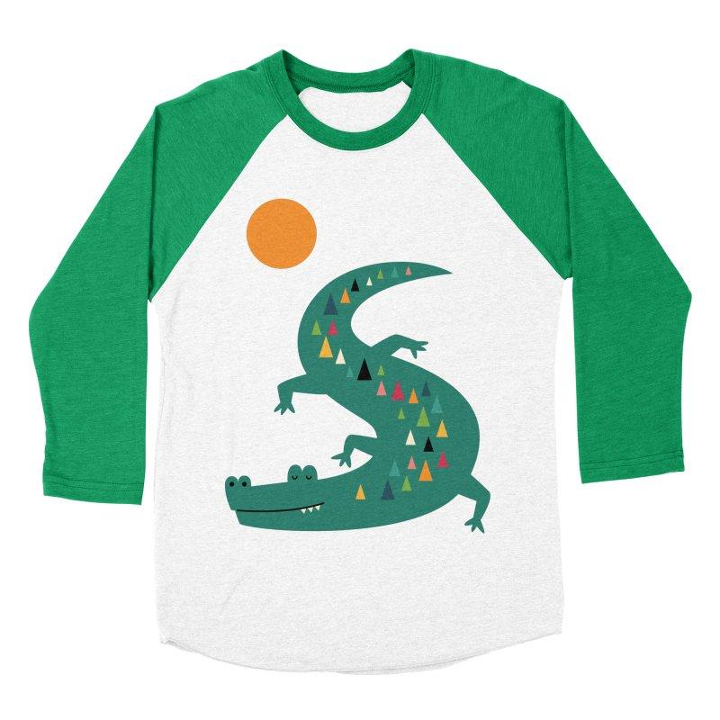 Sunbathing Women's Baseball Triblend T-Shirt by andywestface's Artist Shop