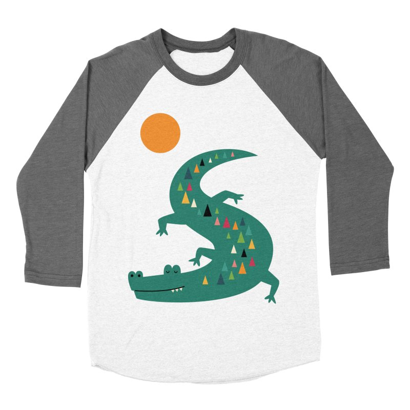 Sunbathing Men's Baseball Triblend T-Shirt by andywestface's Artist Shop