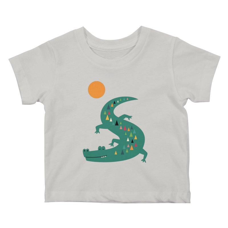 Sunbathing Kids Baby T-Shirt by andywestface's Artist Shop