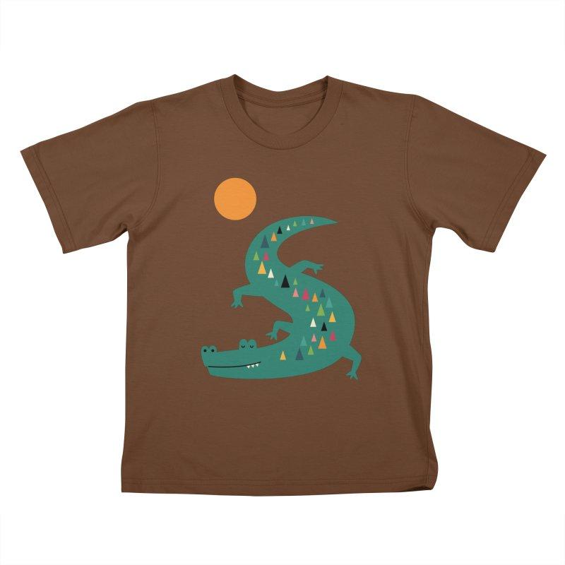 Sunbathing Kids T-Shirt by andywestface's Artist Shop