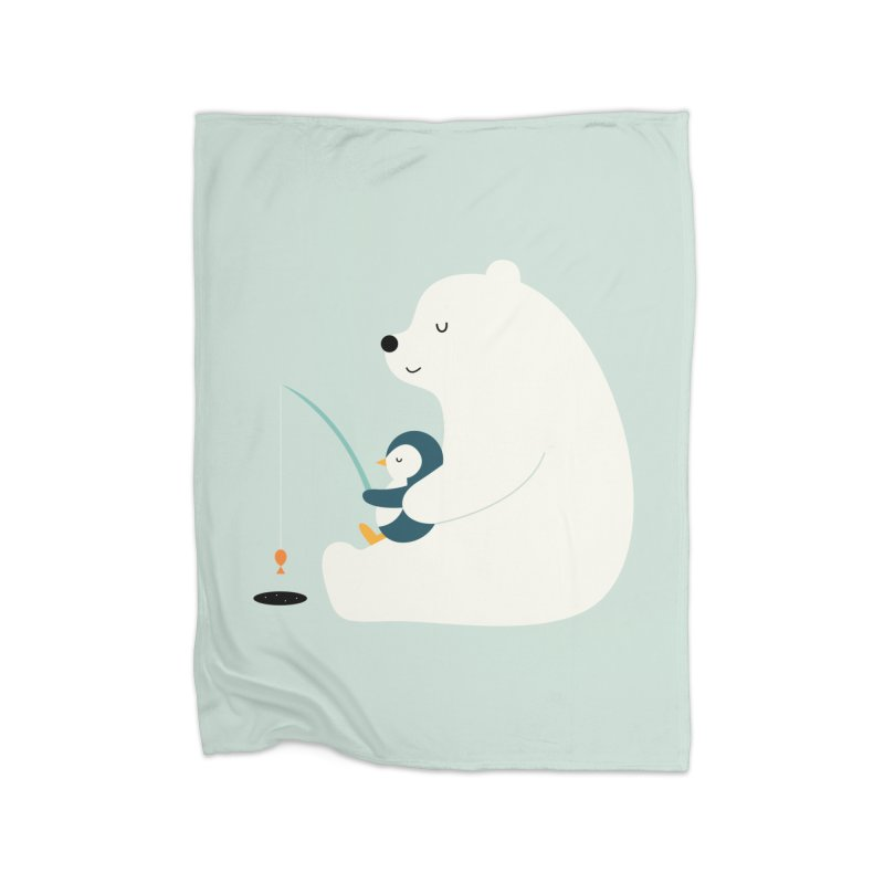 Buddy Home Blanket by andywestface's Artist Shop