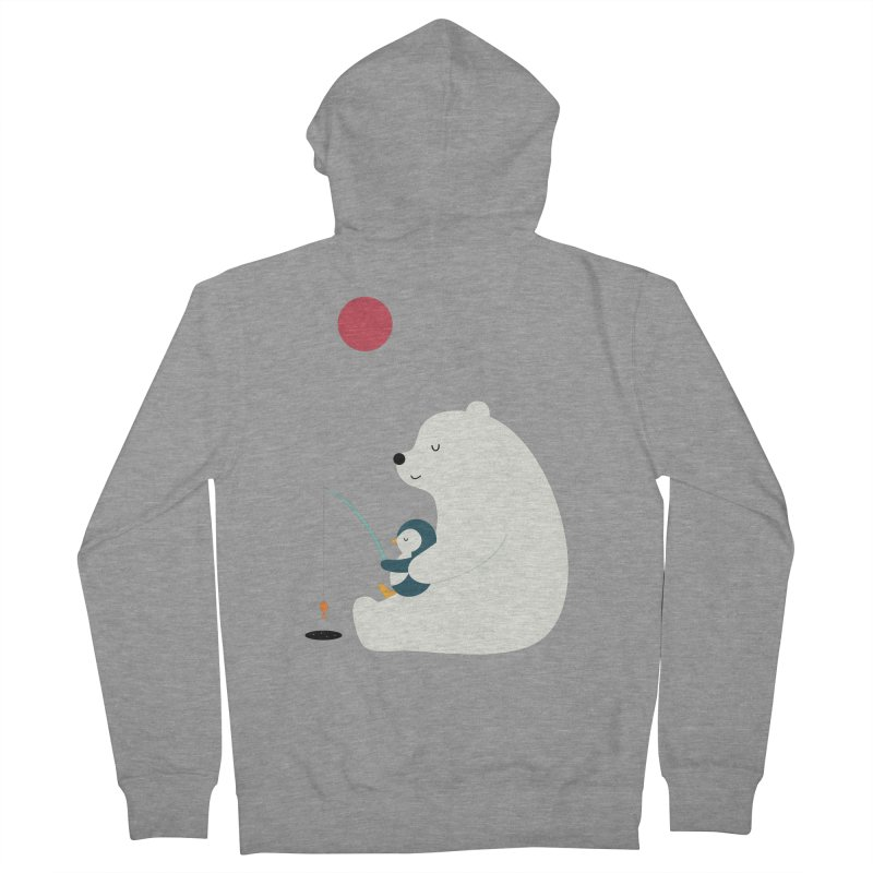 Buddy Women's French Terry Zip-Up Hoody by andywestface's Artist Shop