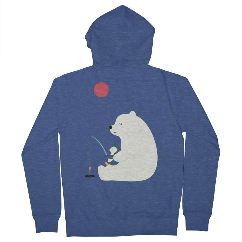 Buddy Men's French Terry Zip-Up Hoody by andywestface's Artist Shop