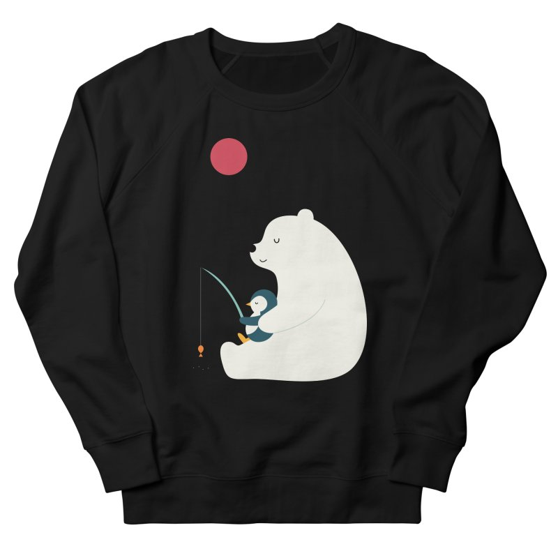 Buddy Men's French Terry Sweatshirt by andywestface's Artist Shop