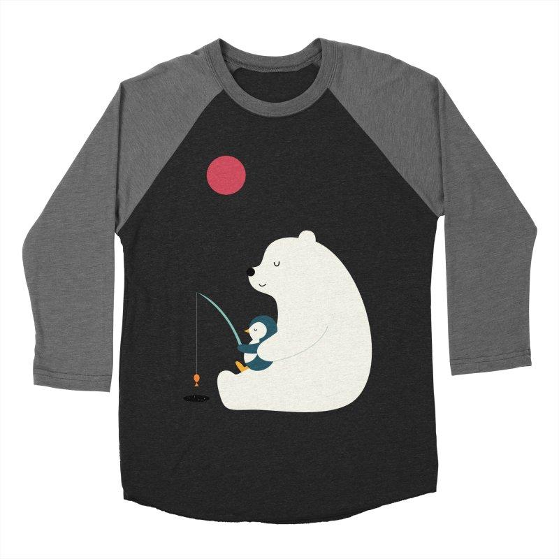 Buddy Men's Baseball Triblend Longsleeve T-Shirt by andywestface's Artist Shop