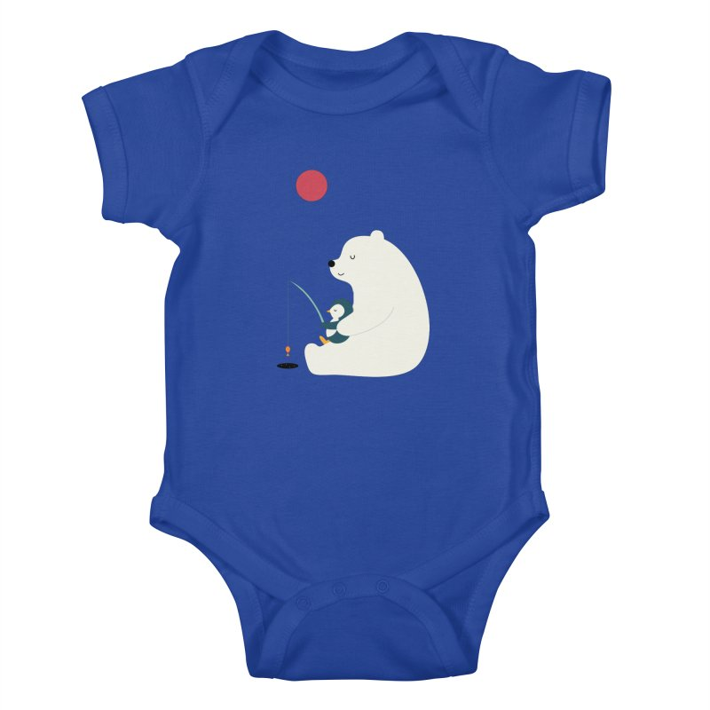 Buddy Kids Baby Bodysuit by andywestface's Artist Shop