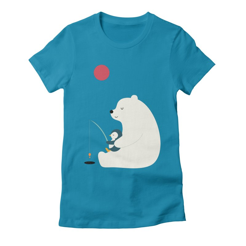 Buddy Women's Fitted T-Shirt by andywestface's Artist Shop