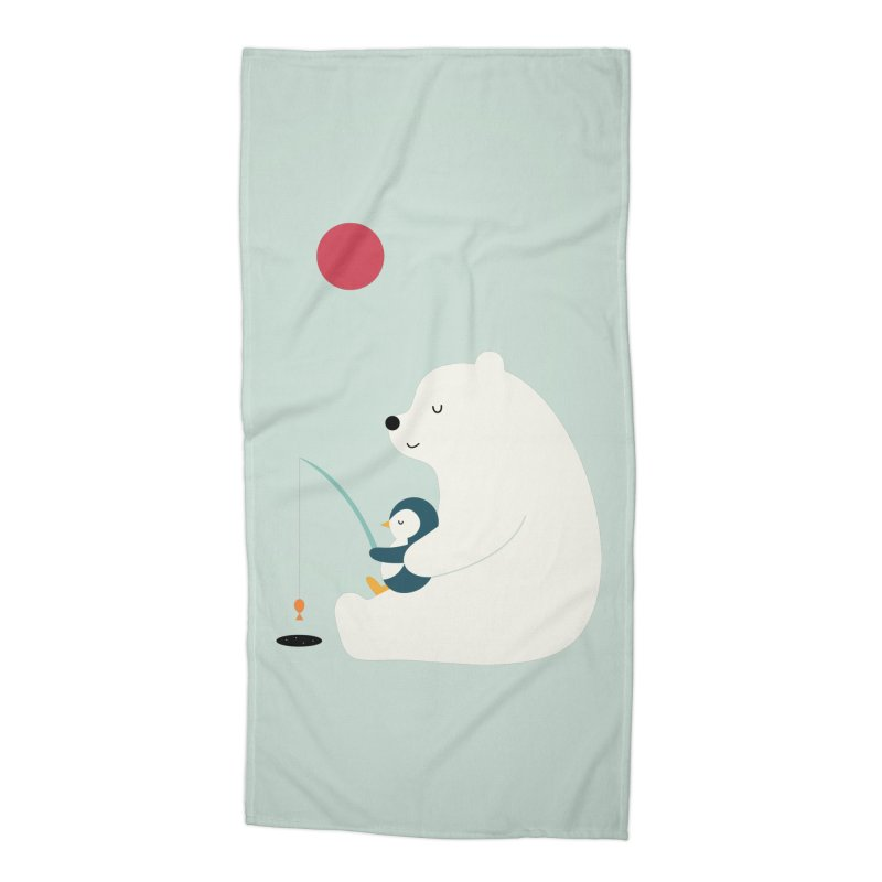 Buddy Accessories Beach Towel by andywestface's Artist Shop