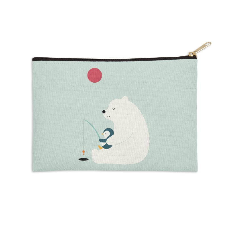 Buddy Accessories Zip Pouch by andywestface's Artist Shop