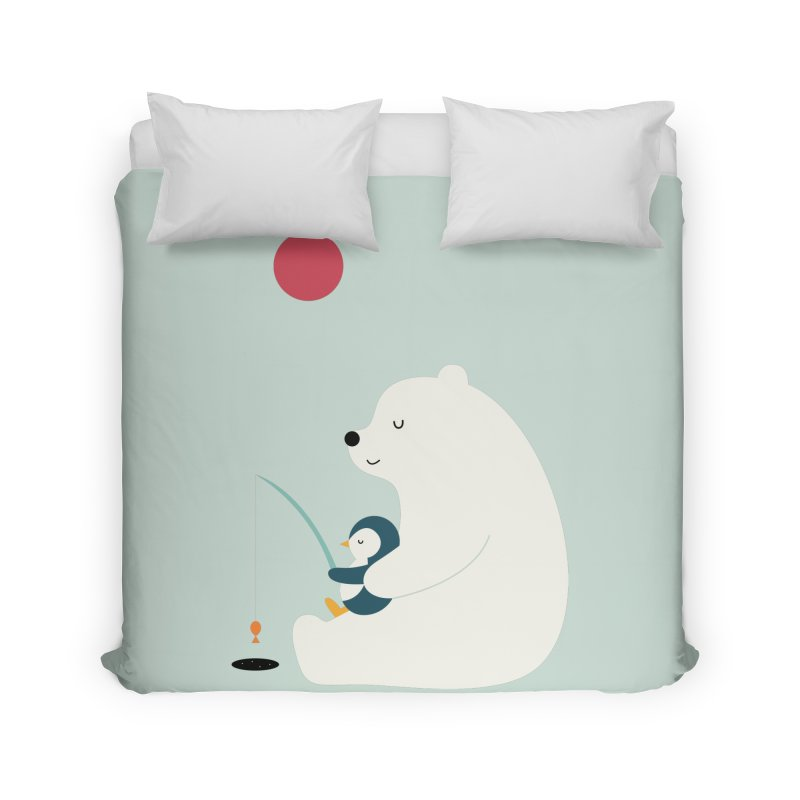 Buddy Home Duvet by andywestface's Artist Shop