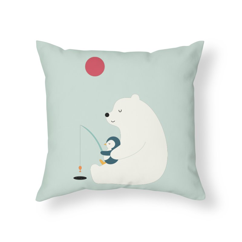 Buddy Home Throw Pillow by andywestface's Artist Shop