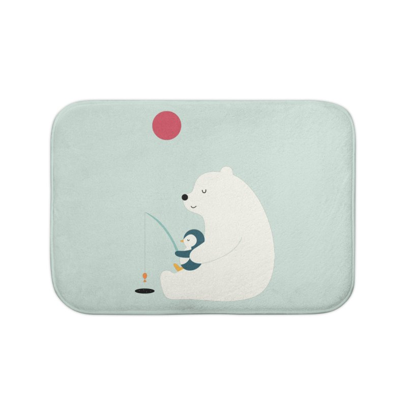Buddy Home Bath Mat by andywestface's Artist Shop
