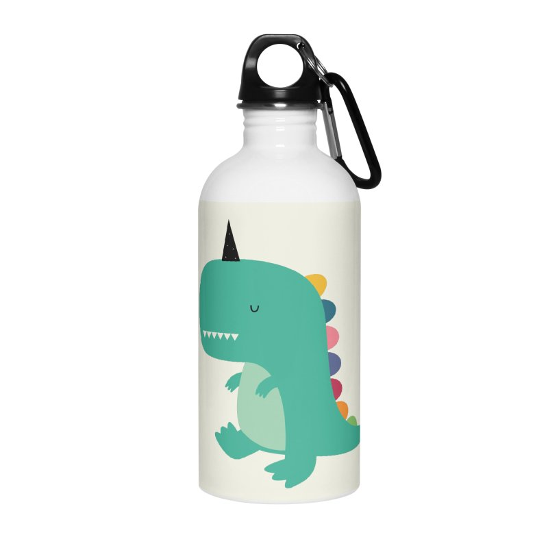 Dinocorn Accessories Water Bottle by andywestface's Artist Shop