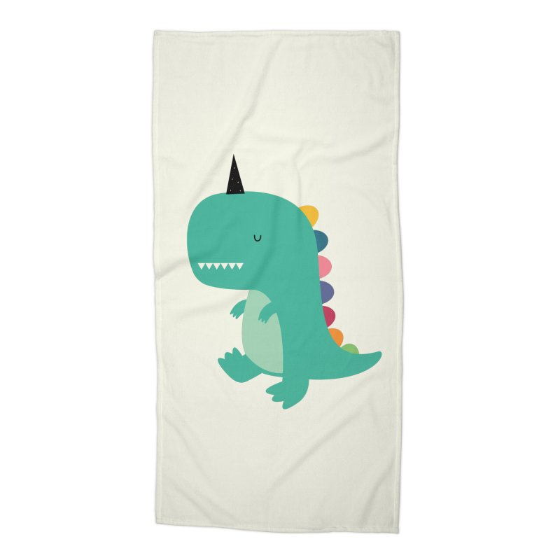 Dinocorn Accessories Beach Towel by andywestface's Artist Shop