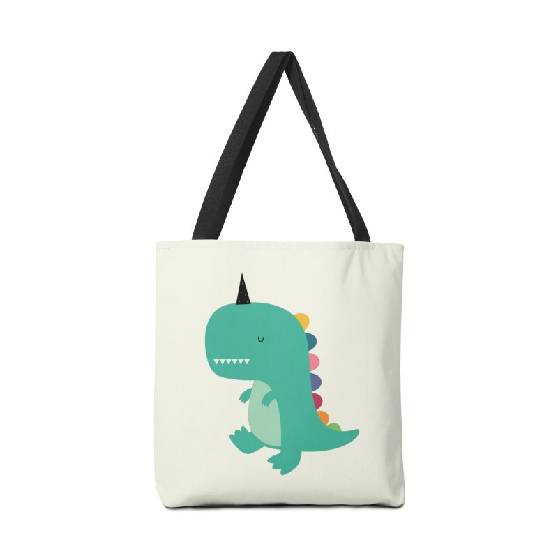 Dinocorn Accessories Tote Bag Bag by andywestface's Artist Shop