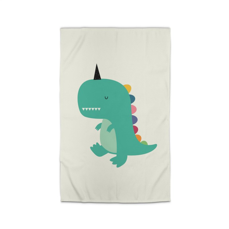 Dinocorn Home Rug by andywestface's Artist Shop