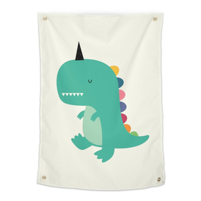 Dinocorn Home Tapestry by andywestface's Artist Shop