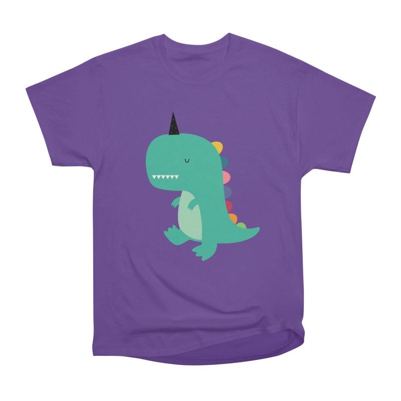 Dinocorn Women's Heavyweight Unisex T-Shirt by andywestface's Artist Shop