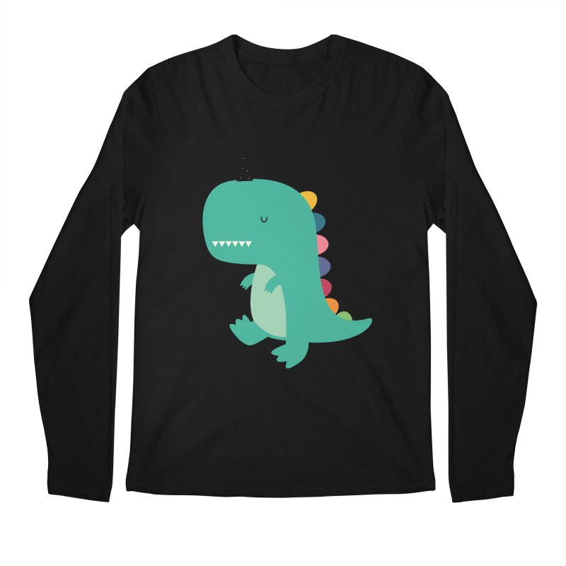 Dinocorn Men's Regular Longsleeve T-Shirt by andywestface's Artist Shop