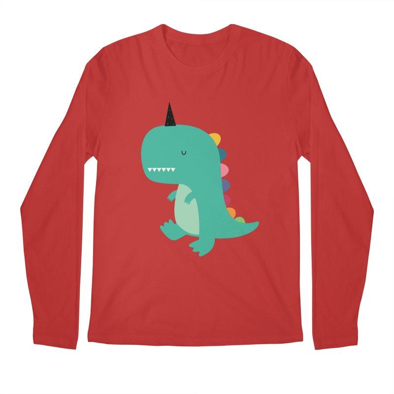 Dinocorn Men's Regular Longsleeve T-Shirt by andywestface's Artist Shop