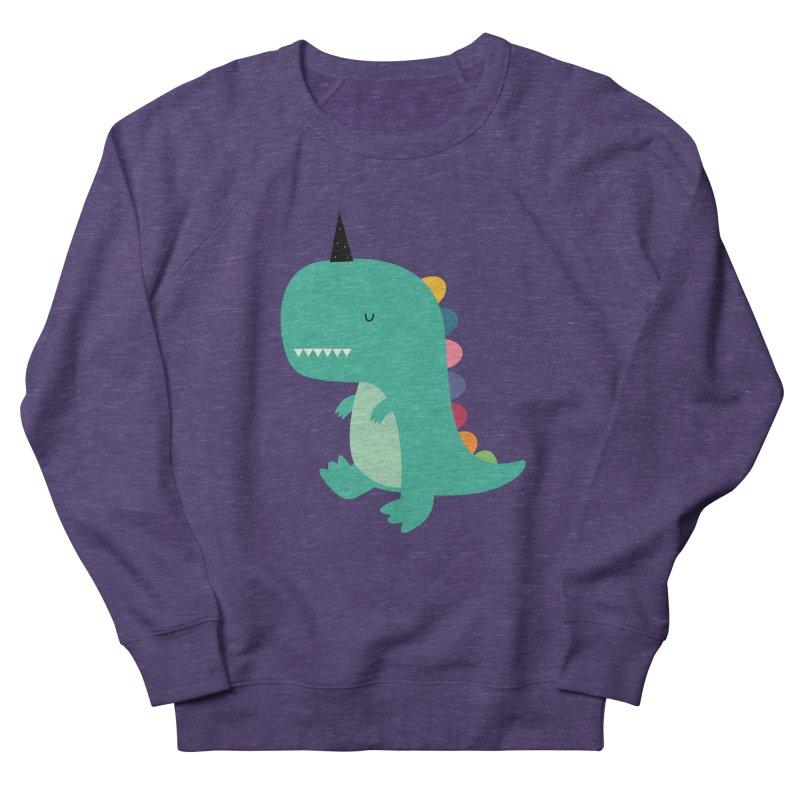 Dinocorn Women's French Terry Sweatshirt by andywestface's Artist Shop