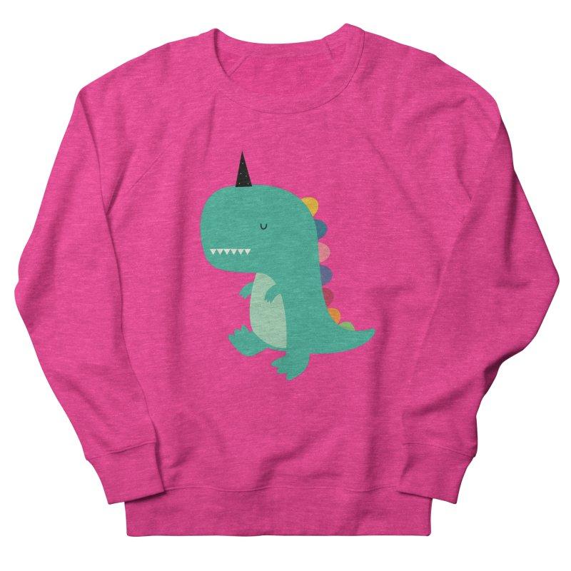 Dinocorn Men's French Terry Sweatshirt by andywestface's Artist Shop