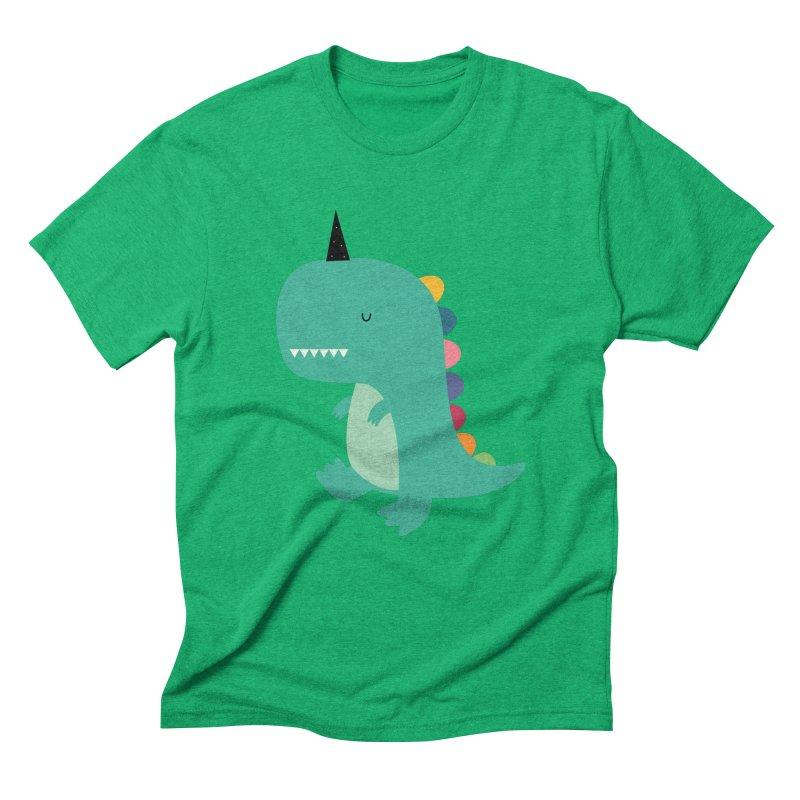 Dinocorn Men's Triblend T-Shirt by andywestface's Artist Shop