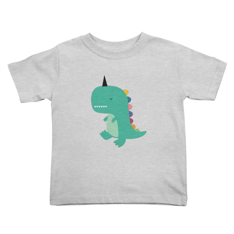 Dinocorn Kids Toddler T-Shirt by andywestface's Artist Shop