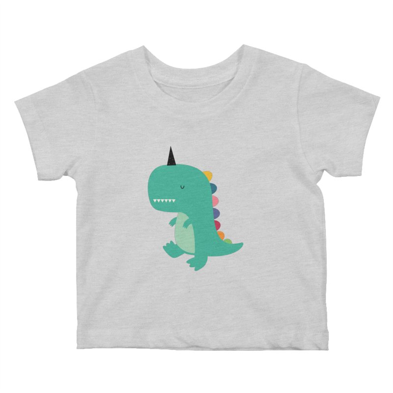 Dinocorn Kids Baby T-Shirt by andywestface's Artist Shop